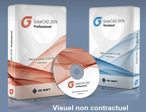 GstarCAD 2019 version Académique
