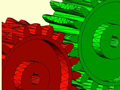 Plan mécanique 3D
