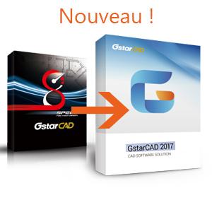 Mise à jour version antérieure à 2017 vers GstarCAD 2018 Monoposte